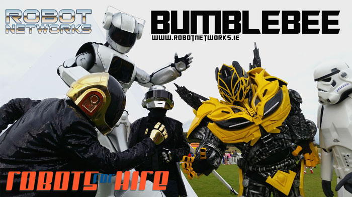 Robot-networks_BumbleBee_hire_dublin_events-small