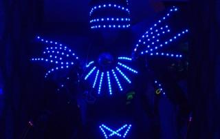 Glowbots with www.robotnetworks.ie