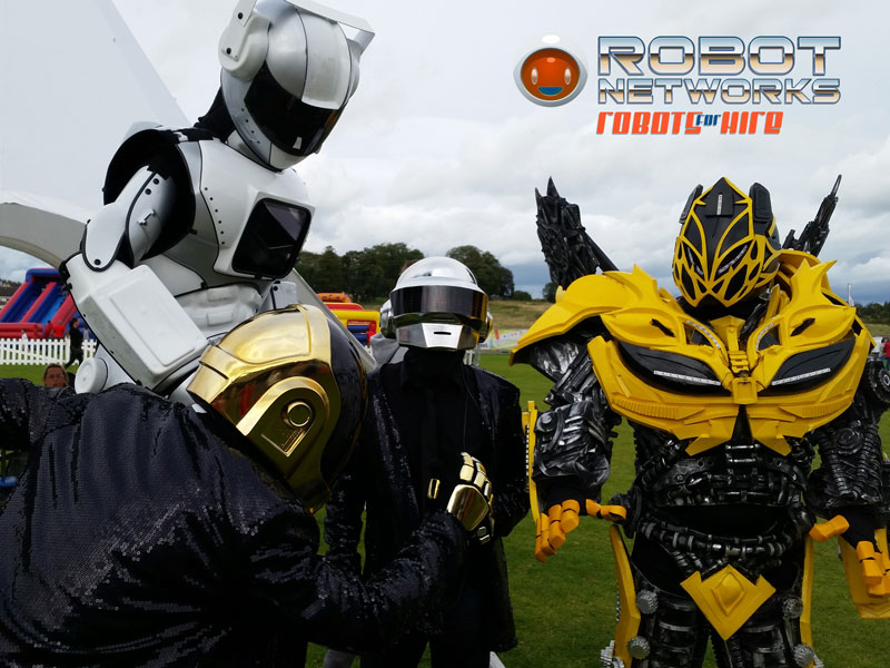 Entertainment Robots for hire in Ireland with www.robotnetworks.ie