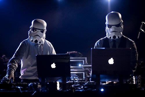 Star Trooper DJs with www.robotnetworks.ie