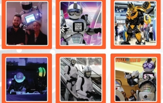 Robots for your exhibitions with www.robotnetworks.ie